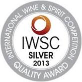 IWSC сребърна награда 2013
