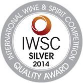 IWSC сребърна награда 2014